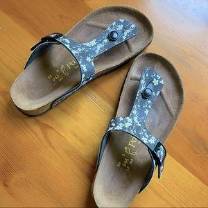 Birkenstock Gizeh Black Sandals 38